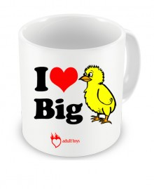 Caneca I Love Big...