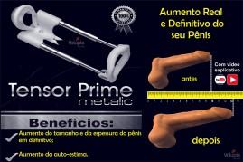 Tensor Prime Metalic Aluminium  - A máquina do Homem Extensor Peniano
