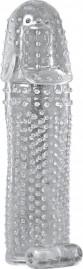 Capa Peniana em Jelly 16cm com Vibro