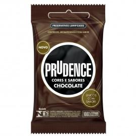 Preservativo Prudence Cores e Sabores Chocolate - 3 un.