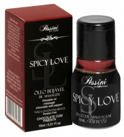 Spicy Love Gel Chocolate c/ Pimenta Hot 15ml