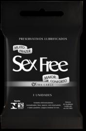 Preservativo Sex Free Ultra Large XL - 3 un.