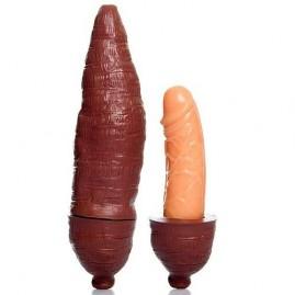 Capa Mandioca com Pênis Disfarçado