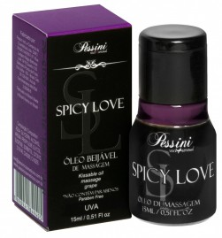 Spicy Love Gel Comestível Uva Hot 15ml