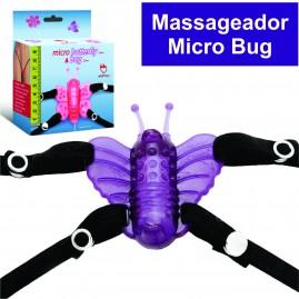 Vibrador Feminino Tipo Borboleta Micro Bug