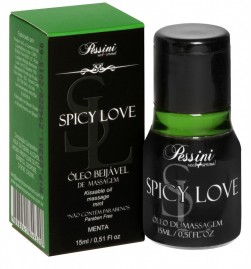 Spicy Love Gel Comestível Menta Hot 15ml